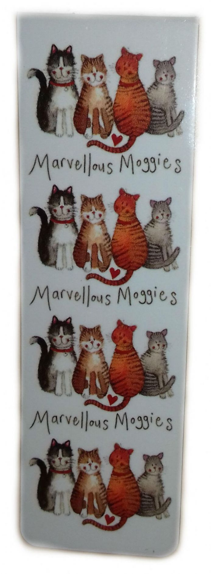 Marvellous Moggies Magnetic Bookmark